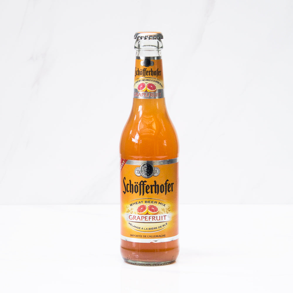 24 botellas Cervezas Schöfferhofer Pomelo 330 cc c/u