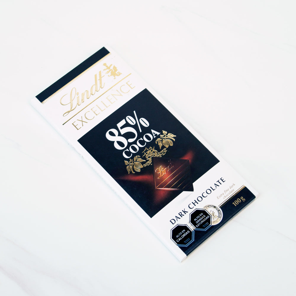 Chocolate amargo Excellence 85% cacao Lindt 100 gr