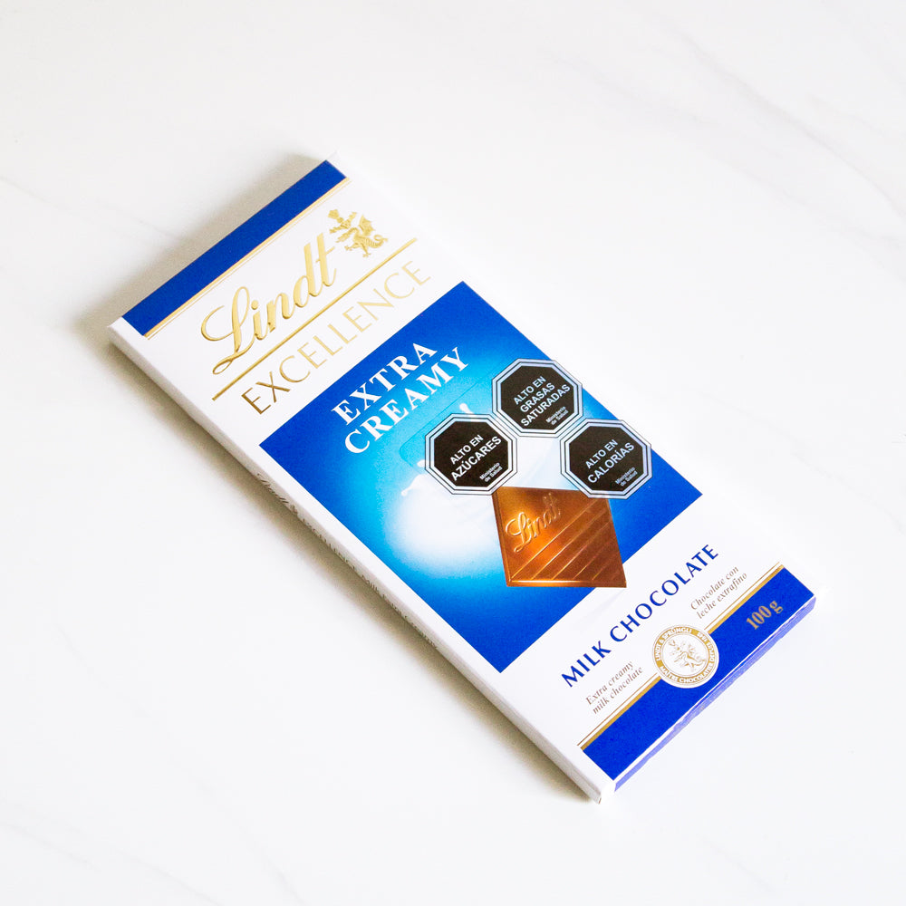 Chocolate de leche Excellence Extra Creamy Lindt 100 gr