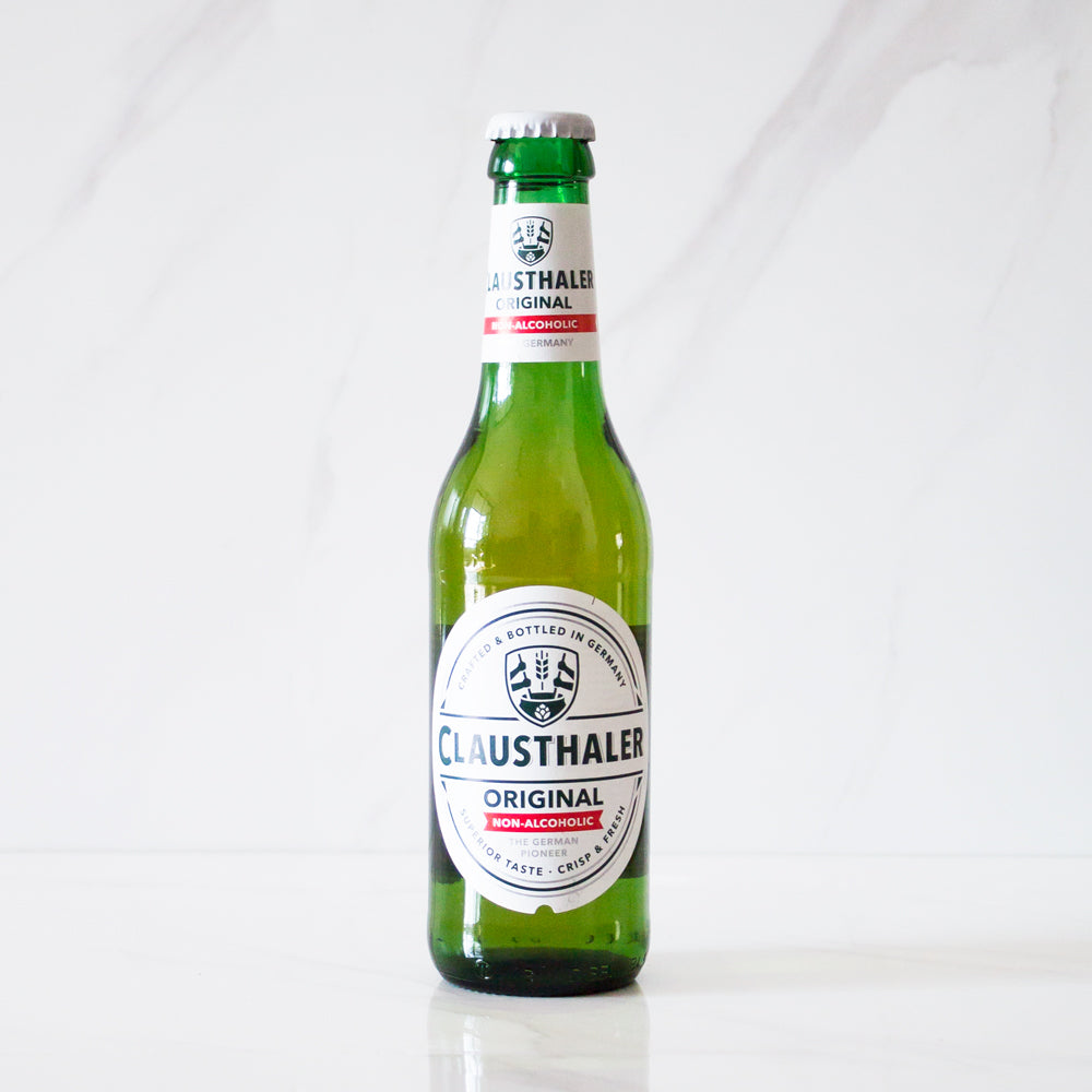 Cerveza Sin Alcohol Clausthaler botella 330 cc