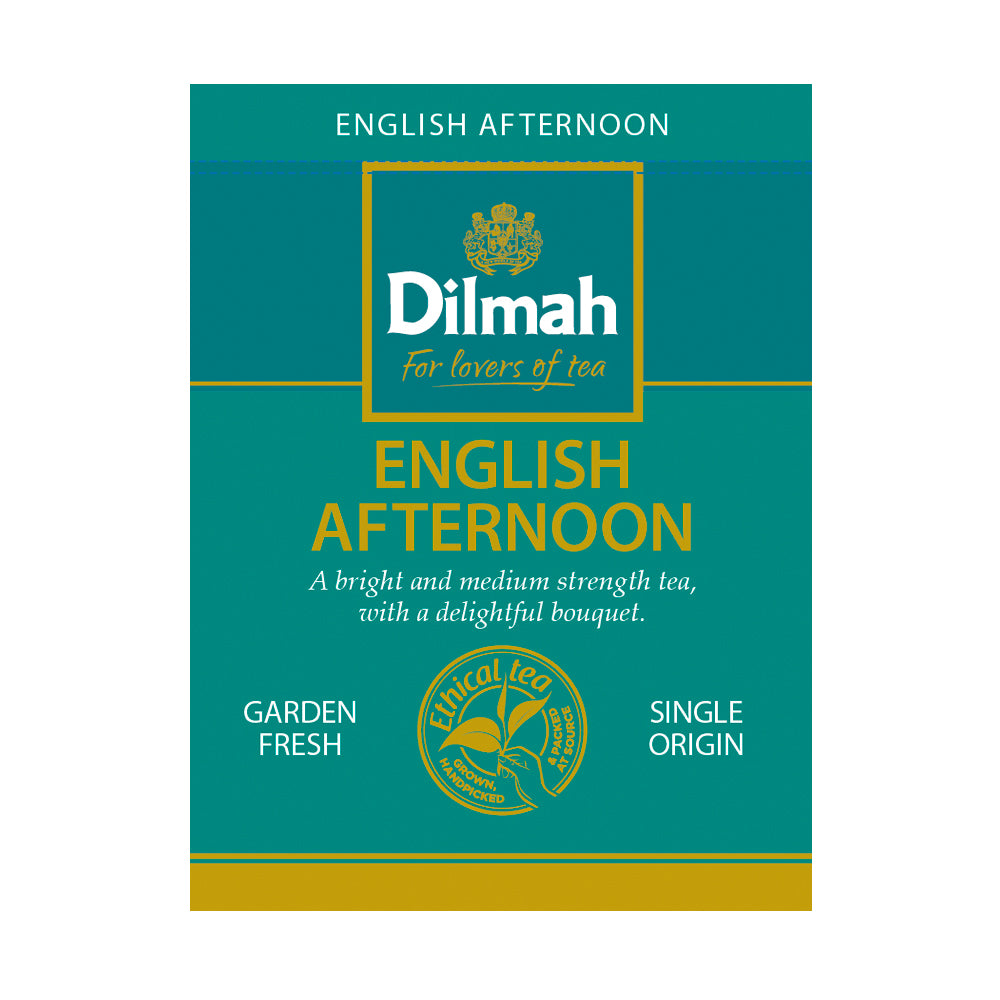 Té negro english afternoon Dilmah 100 bolsas