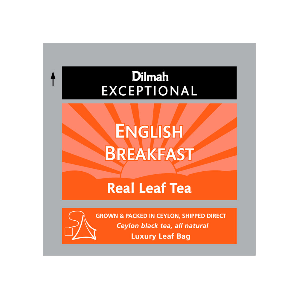 Té negro English Breakfast Dilmah 50 bolsas