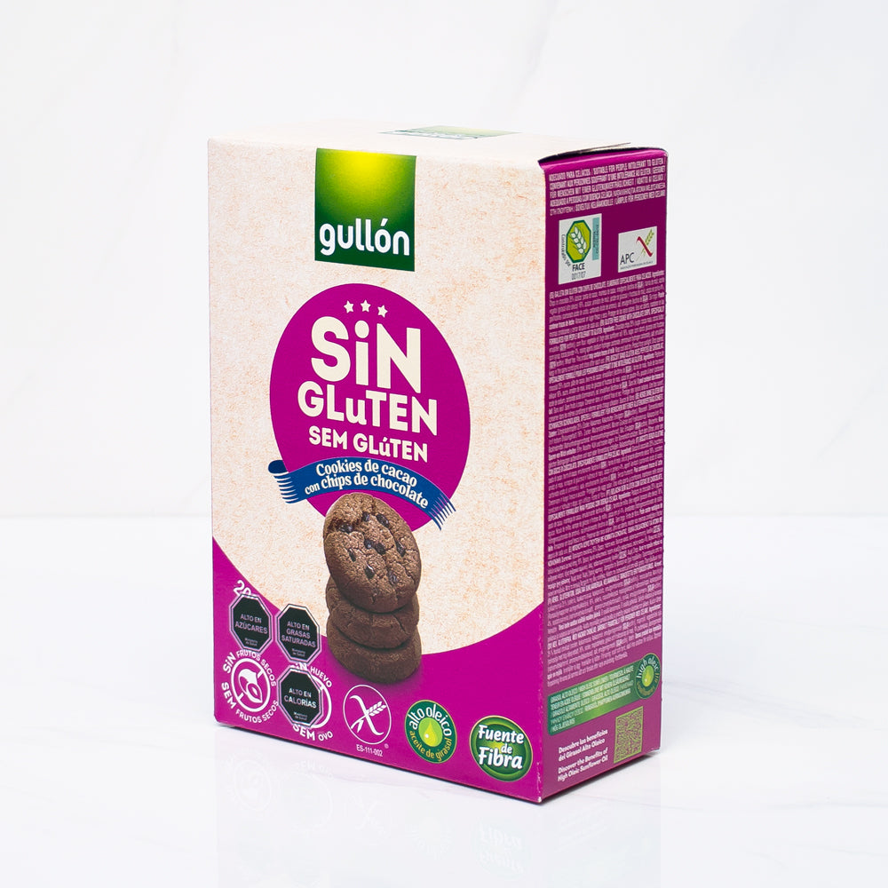 Galleta sin gluten mini choco Gullón 200 gr