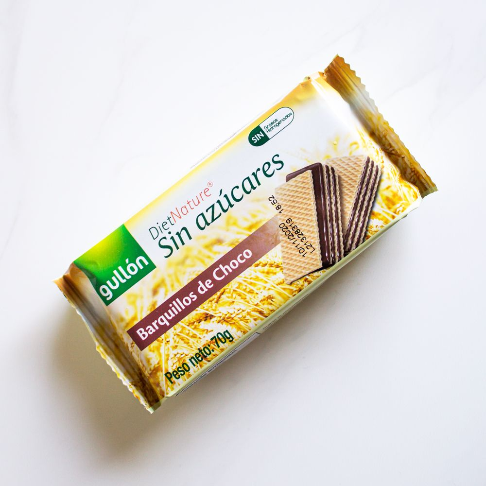 12 Unidades Galleta Diet Nature Oblea Chocolate Gullón 70 gr.