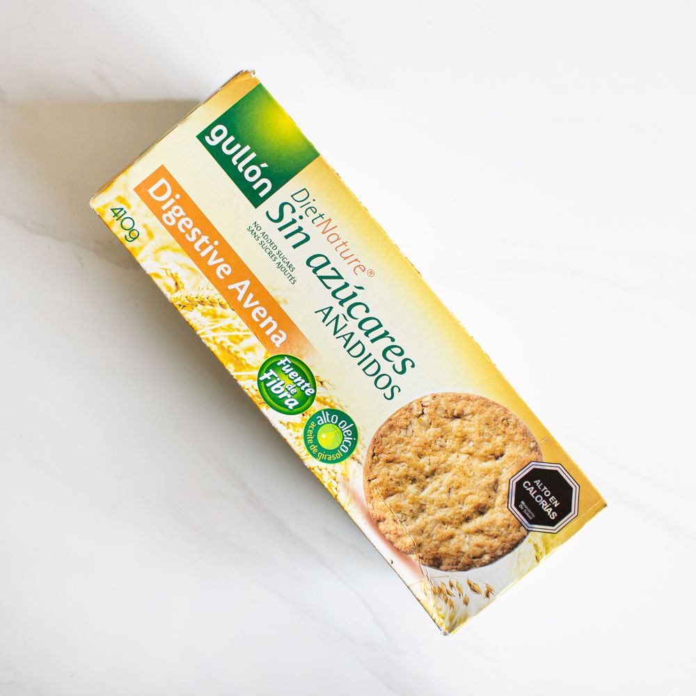 Galleta Diet Nature Digestive Avena Gullón 410 gr