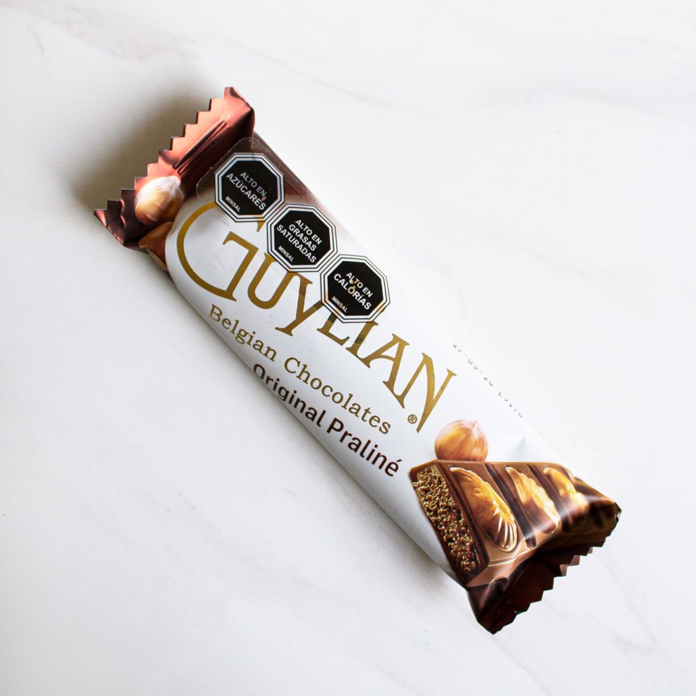 96 Barras Chocolate de Leche Praline Sea Shell Guylian 35 gr c/u