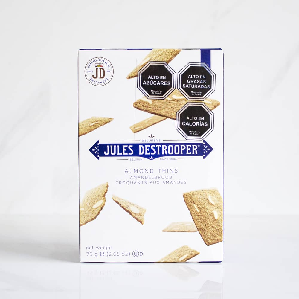 Galleta Almond Thins Jules Destrooper 75 gr