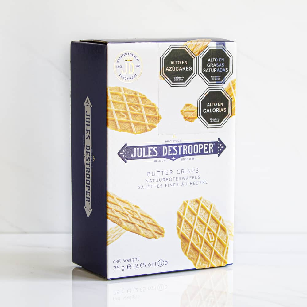 Galleta Butter Crisp Jules Destrooper 75 gr