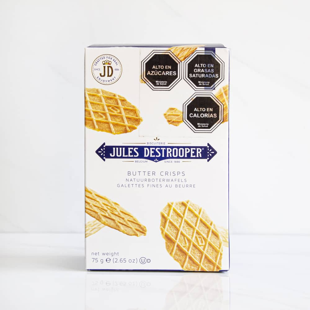 2 Galletas Butter Crisp Jules Destrooper 75 gr
