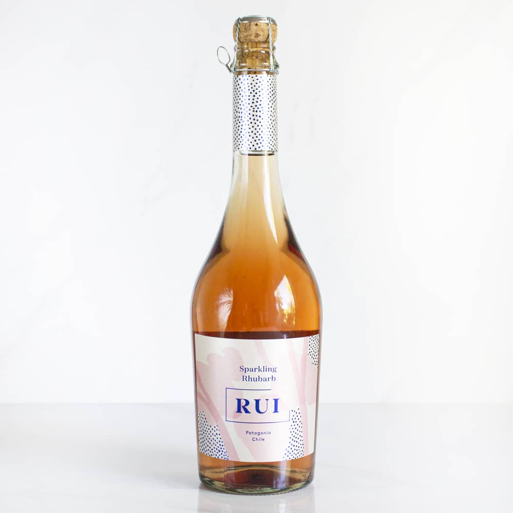 6 Espumantes Ruibarbo RUI 750 ml c/u