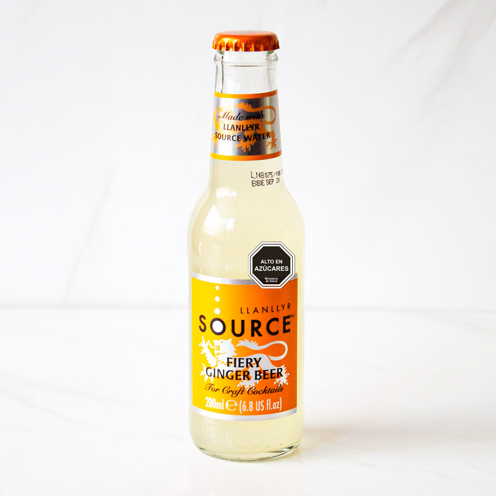 3 Fiery Ginger Beer Source 200 ml c/u