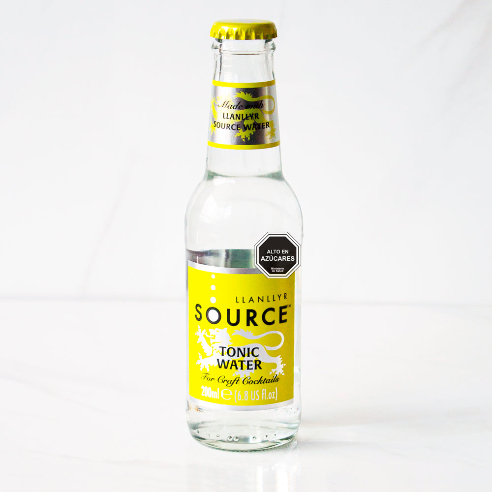 24 botellas Agua Tónica Source 200 ml c/u