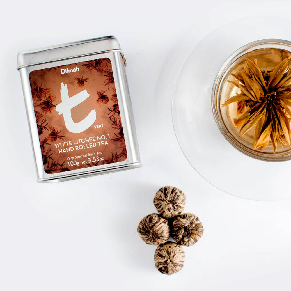 Té blanco White Litchee No. 1 Hand Rolled Dilmah 100 gr c/u