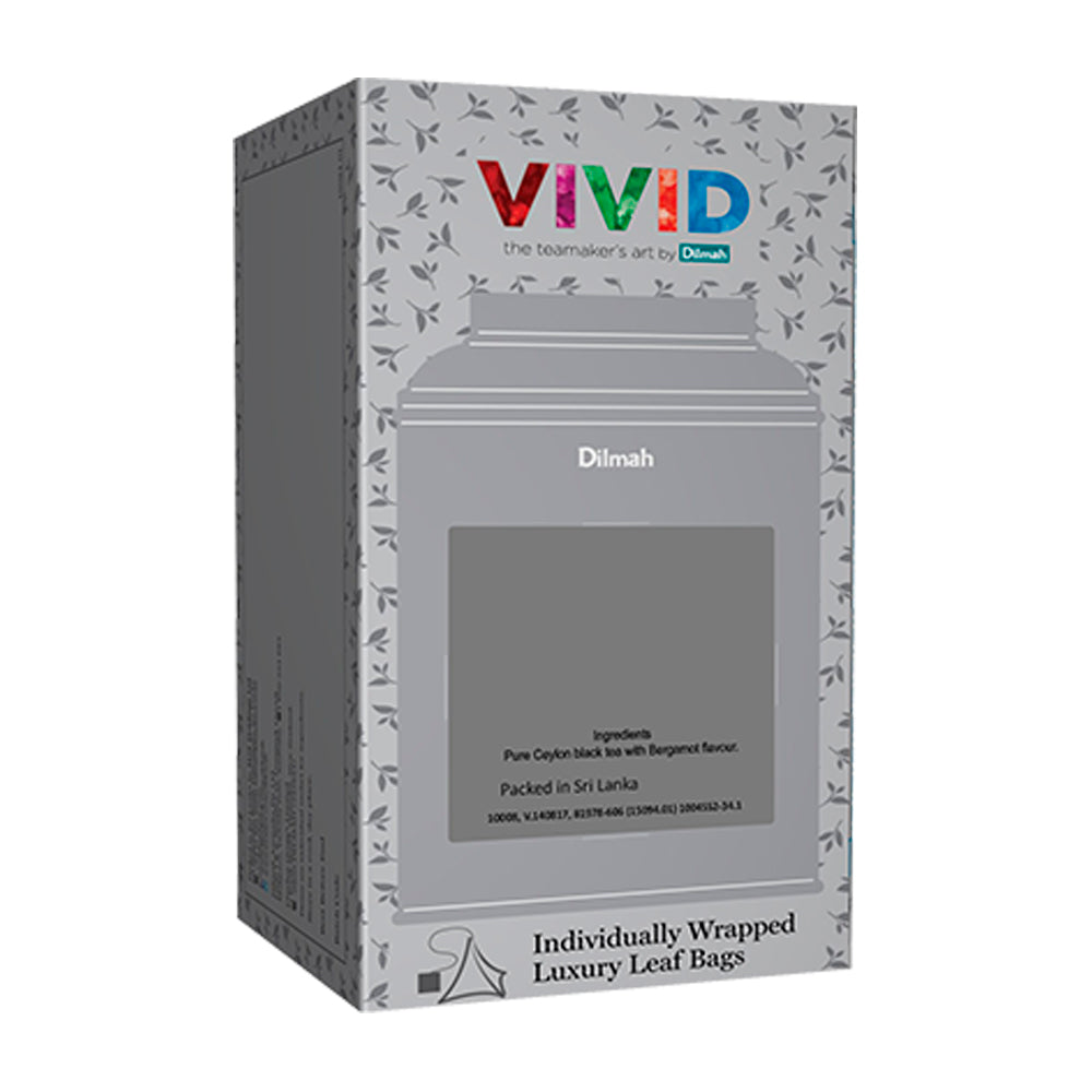 Té negro English Breakfast Vivid Dilmah 200 bolsas