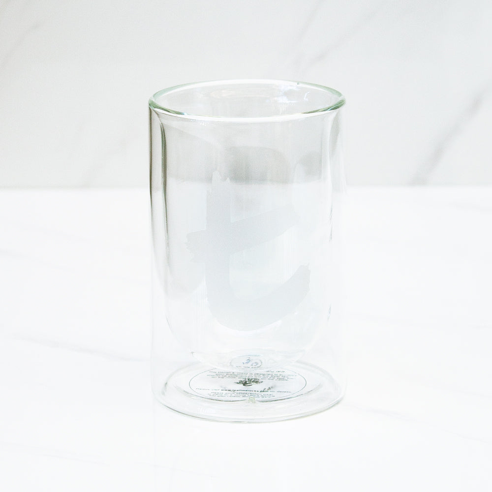 Vaso doble vidrio T-Series Dilmah 230 ml