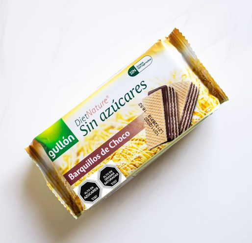 12 Unidades Galleta Diet Nature Oblea Chocolate Gullón 60 gr.