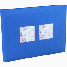 A Big Life Jumbo blue photo albums with windows