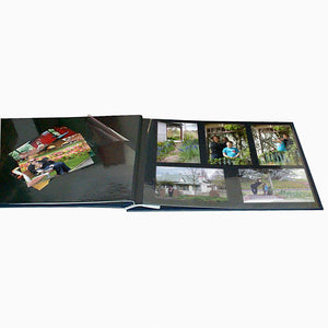 BULK PACK of 6 x A Big Life Jumbo blue photo albums with windows