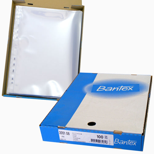 Bantex 2051 heavy duty A4 archival sheet protectors from The Photo Album Shop