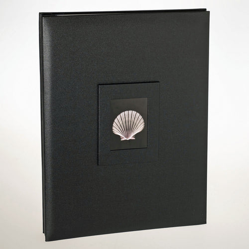 3013A3SBL Coral Coast Black Buckram A3 archival scrapbook photo albums from The Photo Album Shop