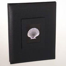 3013A4SBL Coral Coast Black Buckram A4 archival scrapbook photo albums from The Photo Album Shop
