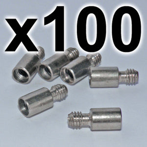 BULK PACK of 100 x Chicago extension posts, 7mm (100 PACK)