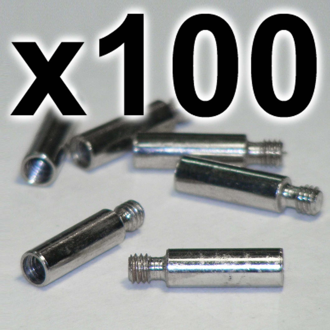 BULK PACK of 100 x Chicago extension posts, 15mm (100 PACK)