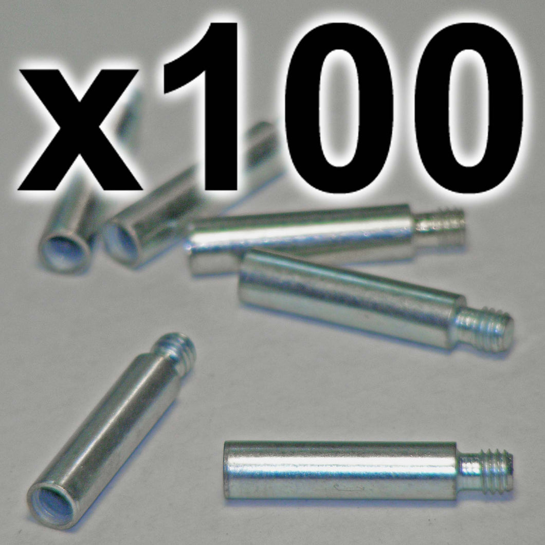 BULK PACK of 100 x Chicago extension posts, 20mm (100 PACK)