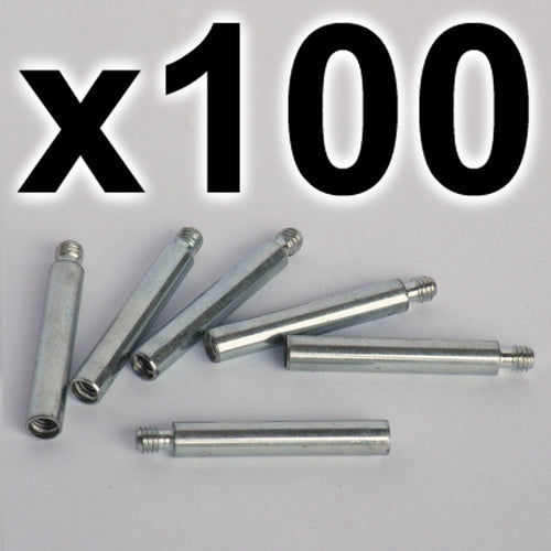 BULK PACK of 100 x Chicago extension posts, 30mm (100 PACK)
