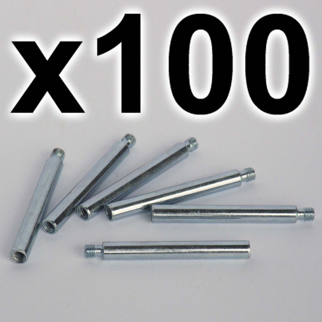 BULK PACK of 100 x Chicago extension posts, 40mm (100 PACK)