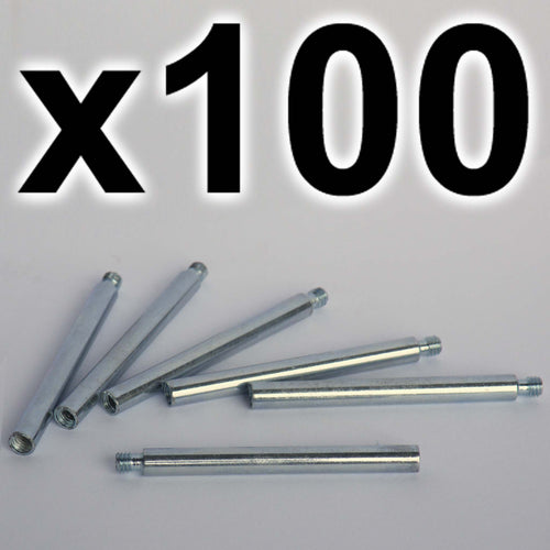 BULK PACK of 100 x Chicago extension posts, 50mm (100 PACK)