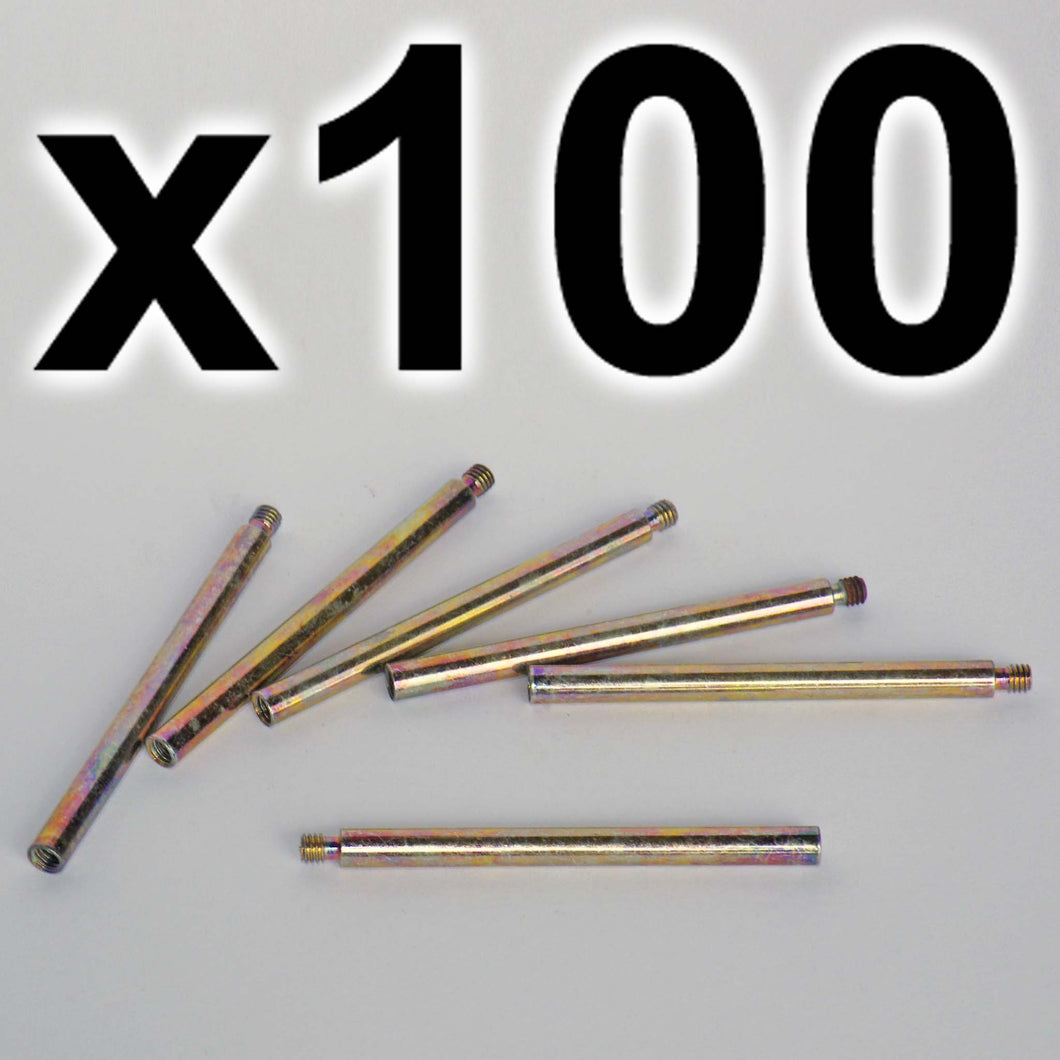 BULK PACK of 100 x Chicago extension posts, 60mm (100 PACK)