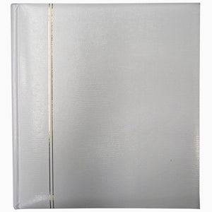 Zanzibar 3708G7C white 6x4 slip-in 200 photo albums from The Photo Album Shop