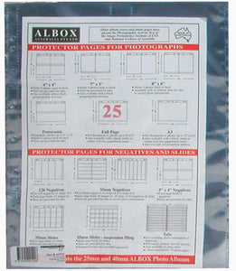 Albox archival 12x9 / A4 document sleeves (25)
