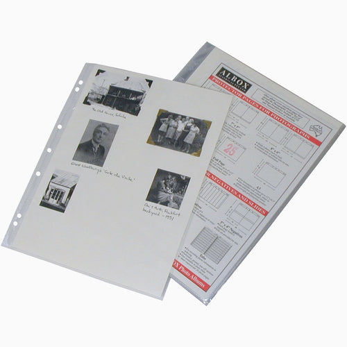 Albox archival 12x9 sleeves with white card inserts (10)