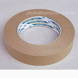 Kikusui 108H Brown Paper Framing Tape (24, 36, 48 or 72mm x 50m)