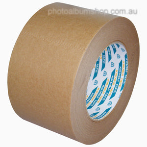 Kikusui 108H 72mm x 50m brown paper picture framing tape from The Photo Album Shop