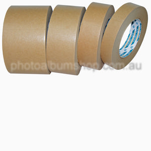 Kikusui 108 brown paper picture framing tape 72mm x 50m