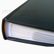 Detailed image of cover and spine of Ascot slip-in photo albums at The Photo Album Shop