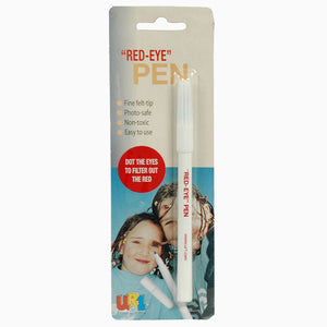 UR1 red-eye pens for safe red-eye removal in photographs from The Photo Album Shop
