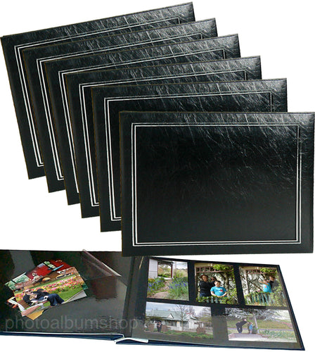 BULK PACK of 6 x NCL Jumbo photo albums 62775