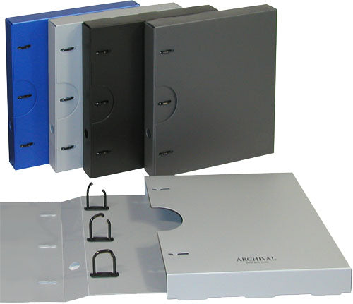 Albox archival 40mm binders & slip-cases, empty
