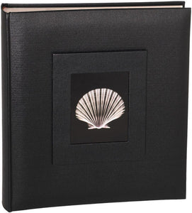 Black Buckram 7x5 slip-in 144 photo albums from The Photo Album Shop