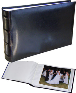 Classic black 8x6 slip-in 100 photo albums ME373B from The Photo Album Shop