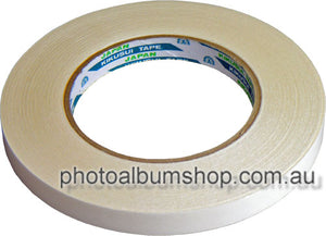 Kikusui 190 double-sided tapes 12mm x 50m