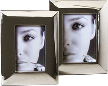 Lara4 mirrored metal photo frame 13x18cm / 7x5""