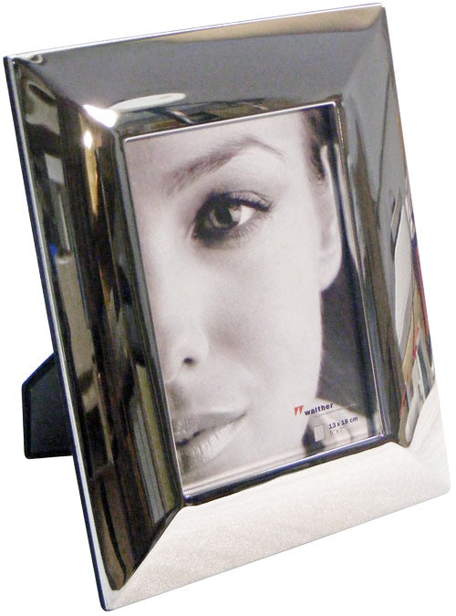 Lara4 mirrored metal photo frame 13x18cm / 7x5