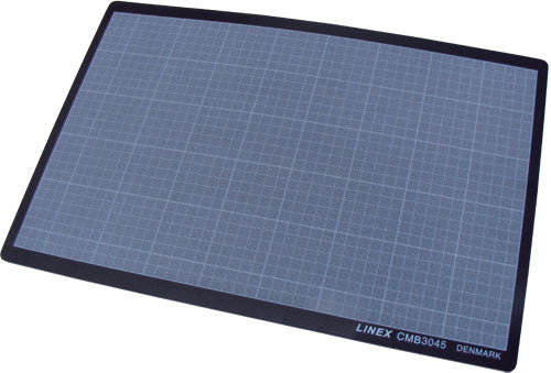 Linex A2 knife cutting mats, self-healing, black