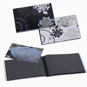 Grindy black page mini albums from The Photo Album Shop