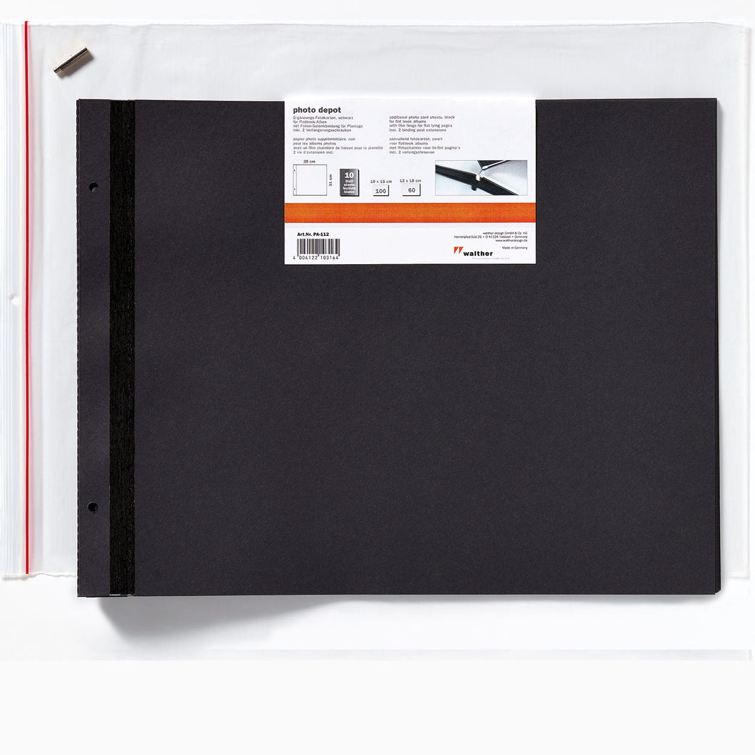PA112 Walther Lino large photo album refills from The Photo Album Shop